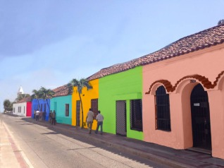 Sin contaminación visual y pintura